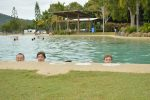 Cooling off at Airlie Beach
